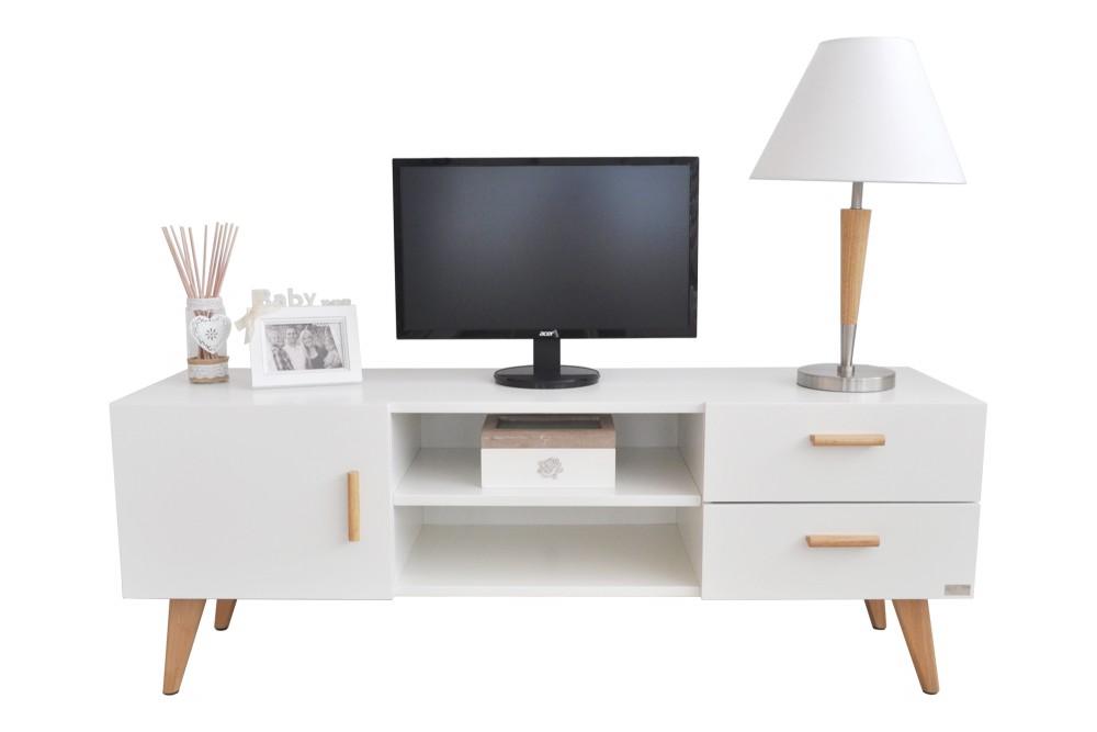 Mobile porta TV in stile nordico colore bianco Mobili