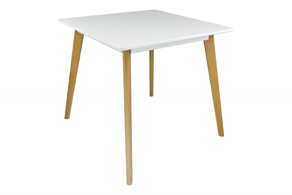 Tavolo cucina quadrato 80×80 bianco, tavolo ristorante mod. Iago Arredo
