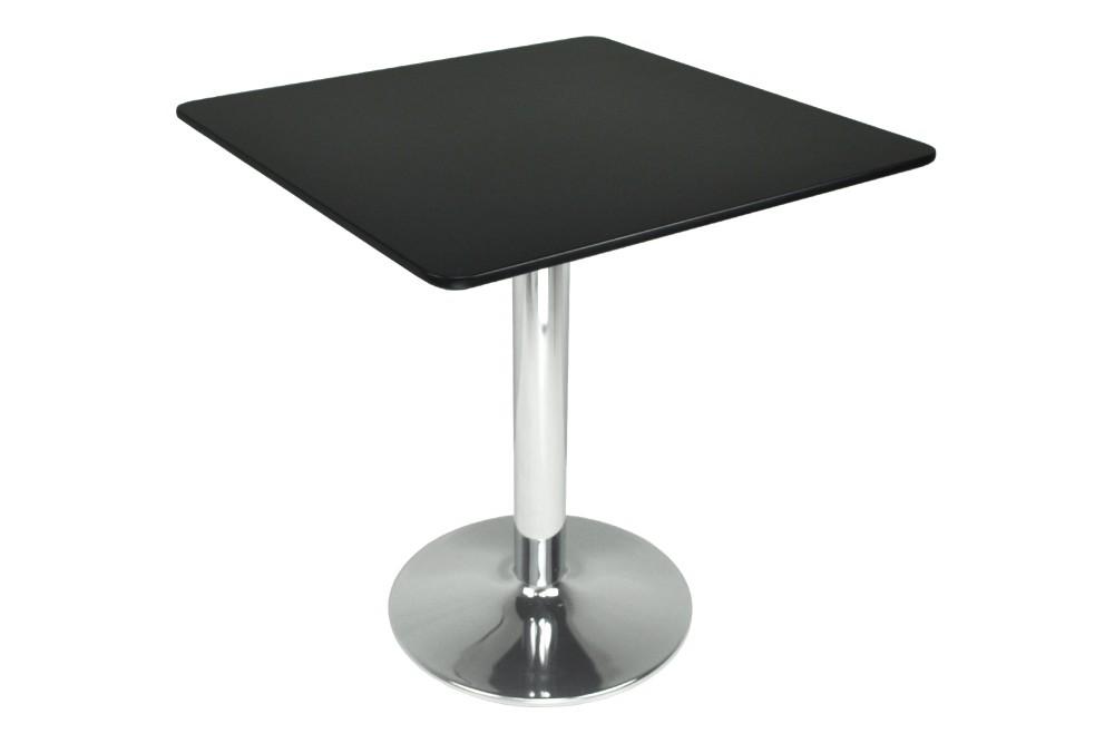 Tavolo quadrato 70×70 nero, tavolino da bar mod. Romeo Arredo