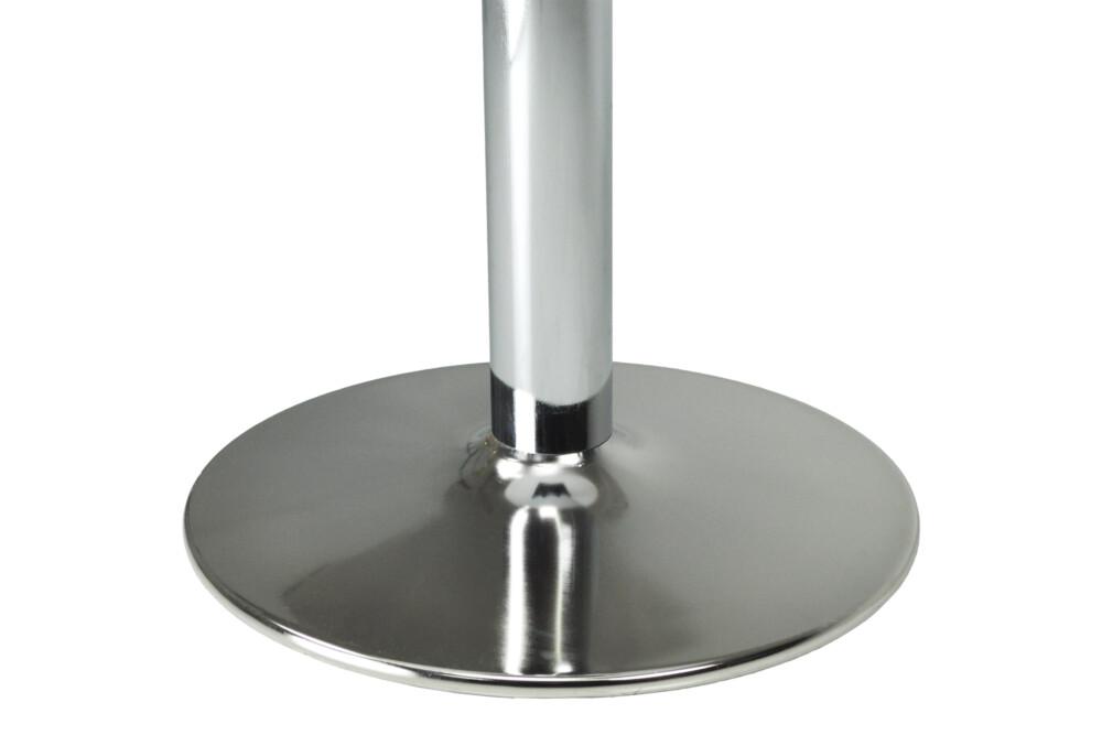 Tavolo rotondo 70 cm nero, tavolino da bar mod. Romeo Arredo